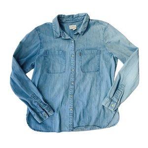 Levis   button up shirt